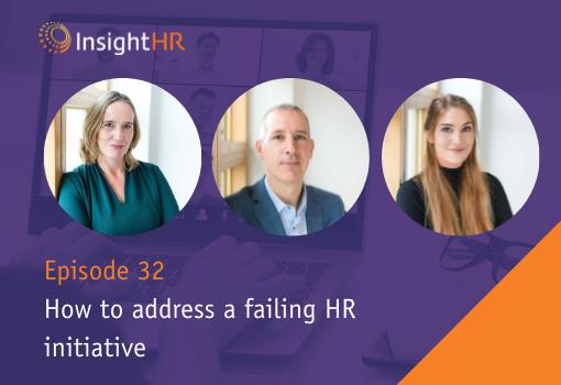 How to address a failing HR initiative